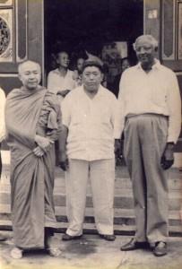 Bersama Romo Kumarasamy, Medan 1960