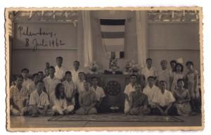 Peresmian Vihara Dharmakirti, 1962