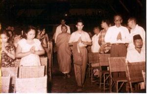 Bengkulu Maret 1960, Penyebaran Agama Buddha menyeberang ke Sumatra