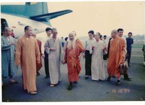 Karena dapatnya dari dokumentasi Wihara Sakyakirti Jambi, saya asumsikan ini foto di Bandara Sultan Thaha Jambi
